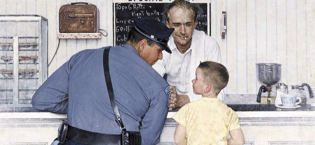 Norman-Rockwell-Police