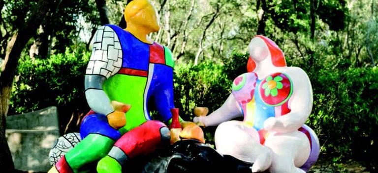 Niki de Saint Phalle: Gioiosa Polemica